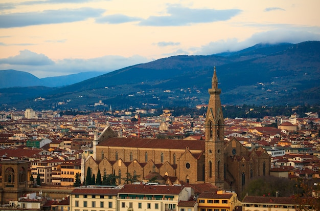 Basilica of st lawrence in florence