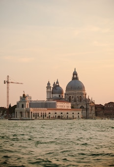 The basilica of st. mary of health in venice landscape