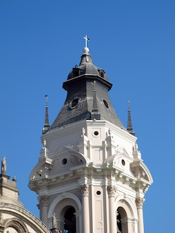Basilica y monasterio de santo domingo, the church in lima city, peru