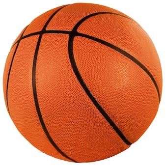 透明な背景の上のバスケットボール