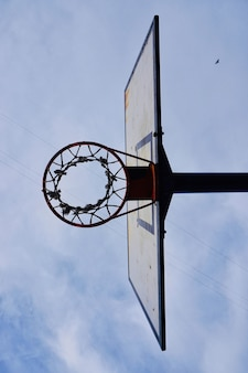 バスケットボールのフープ、ストリートバスケット