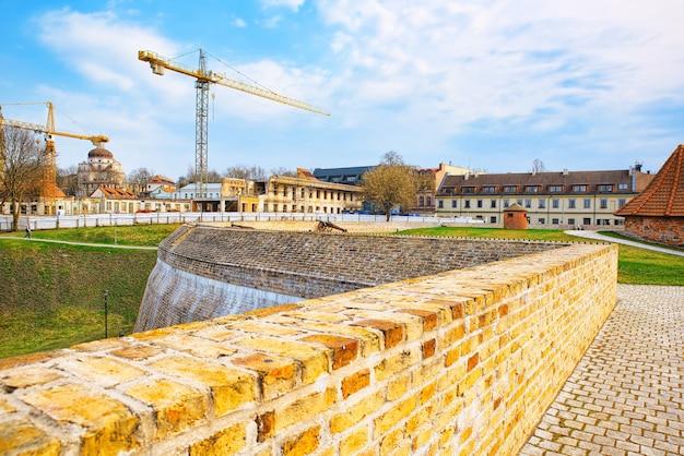 Артиллерийский бастион городской стены вильнюса литва