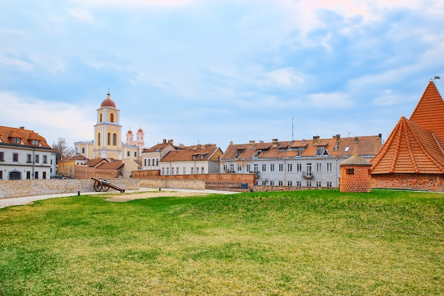Bastion of the vilnius city wall lithuania