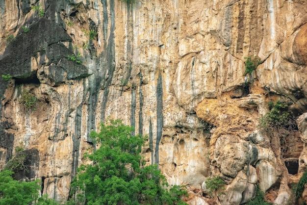 Пещера летучей мыши, путь выхода летучей мыши в phuphaman, khonkaen, таиланд