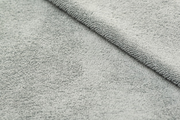 Bath towel with folds. textured fabric background