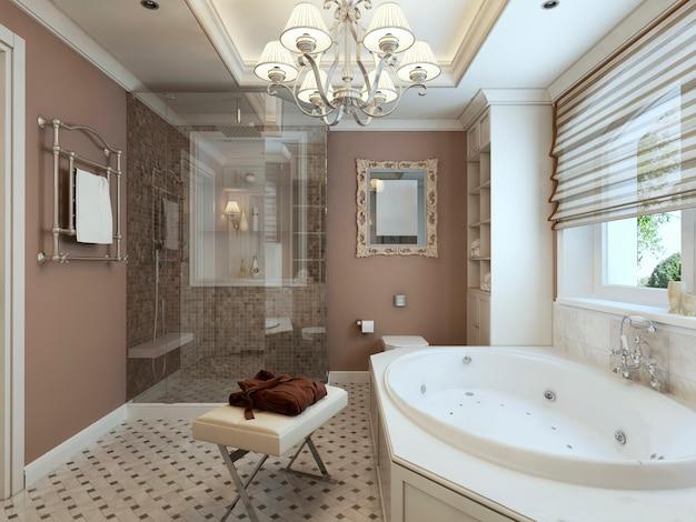 バスルームのアールデコ