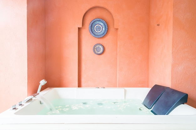 Bathroom bath healthy hotel nobody