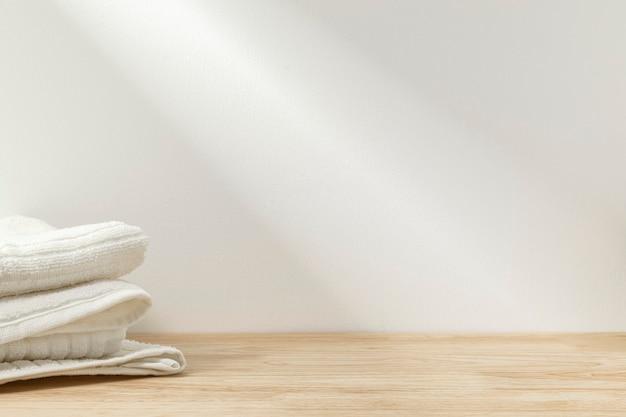 Vetrina sullo sfondo del prodotto per il bagno