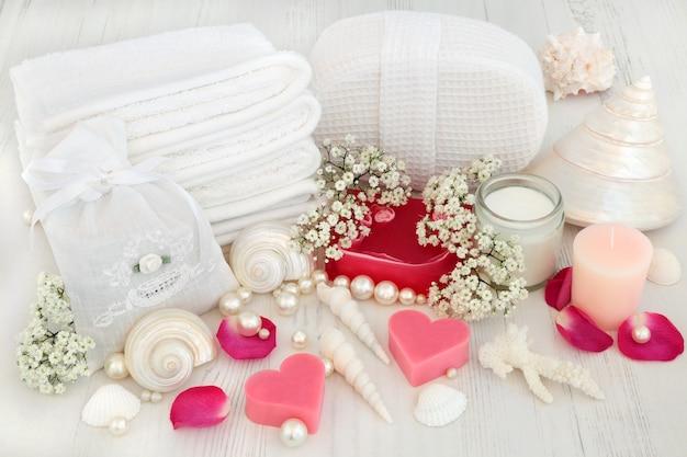 石鹸付きバスルームスパ製品