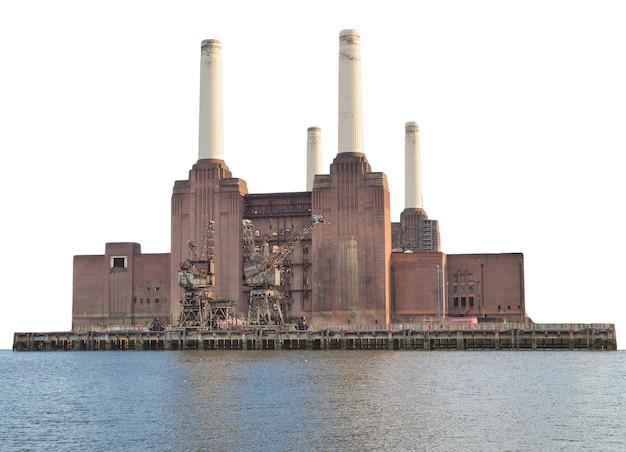 화이트 이상 격리 런던에서 battersea 발전소