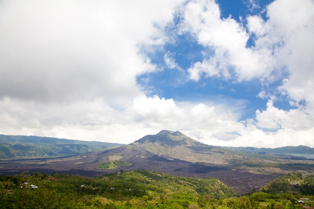 Batur volcano bali indonesia