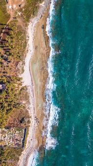 Bay in the caribbean