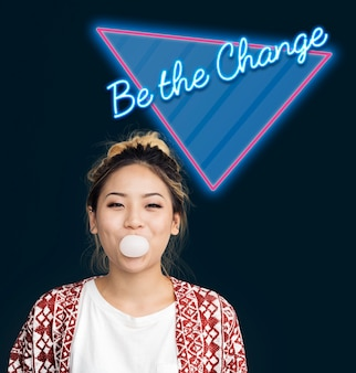 Be the change improvement opportunity process word