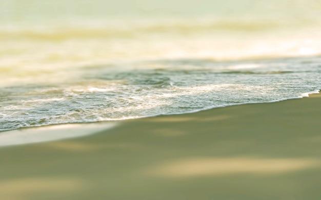 낭만적인 모래 해변 배경