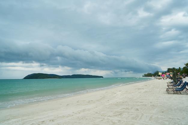 Пляж фона