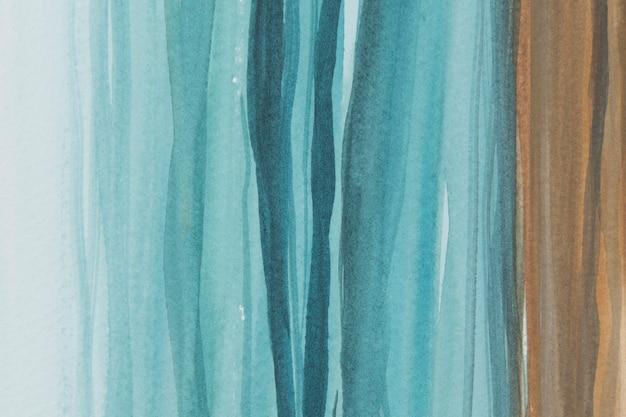 ビーチブルーの水彩背景の抽象的なスタイル