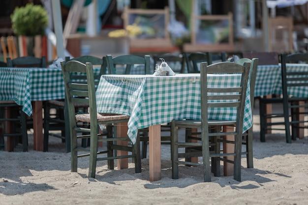 A beach cafe