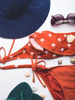 Beach female fashion accessories