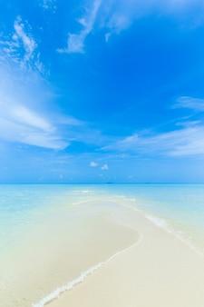 몰디브의 해변