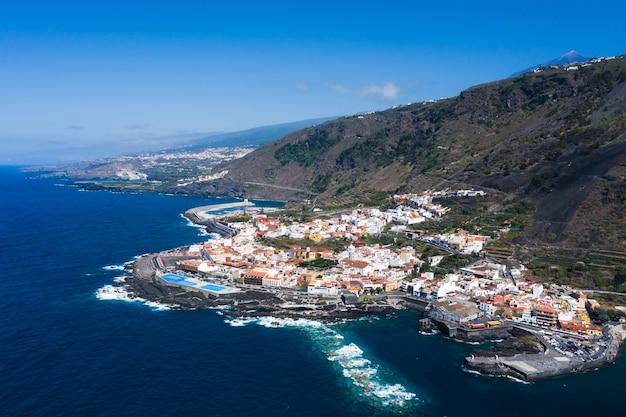 テネリフェ島、カナリア諸島、スペインのビーチ