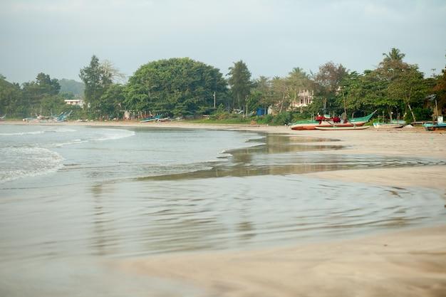 Shirlanqueのウェリガマのビーチ