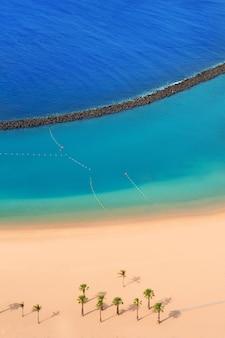 Beach las teresitas in santa cruz de tenerife north