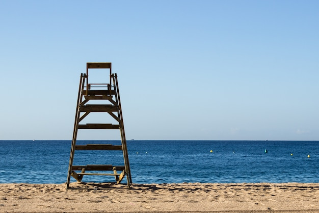 Beach lifeguard security station