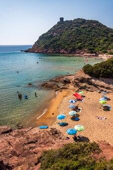Beach of porto ferro