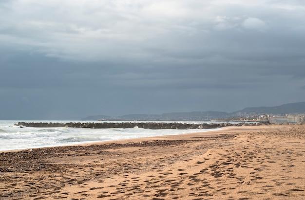 Beach of san leone
