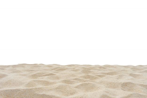 分離された砂浜