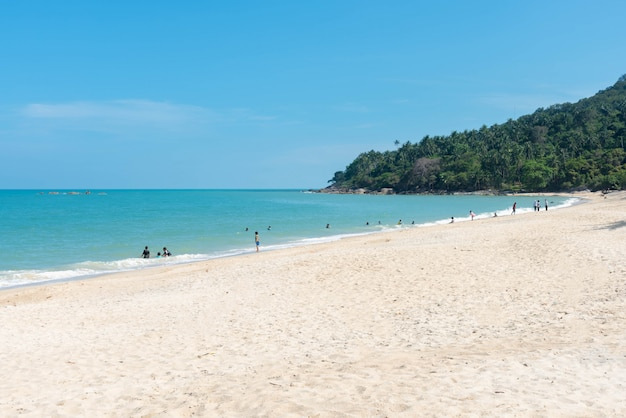 Beach and sea in thailand