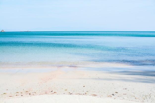 Beach in summer at andaman sea, thailand