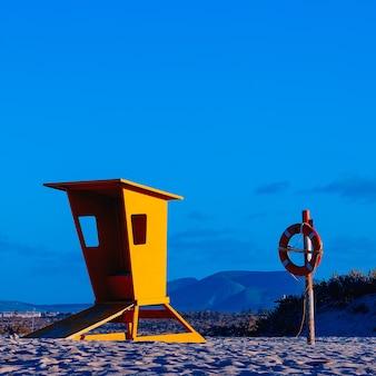ビーチ。旅行のコンセプト。カナリア諸島