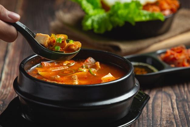 韓国風味噌汁
