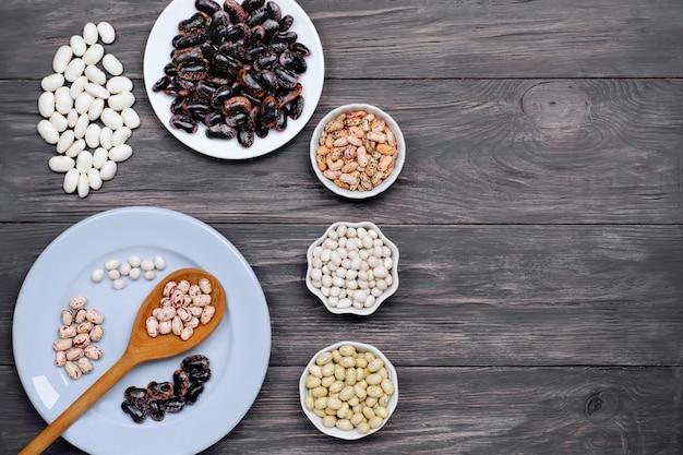 豆、木のマメ科植物