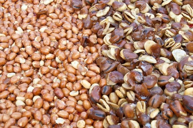 Beans with salt