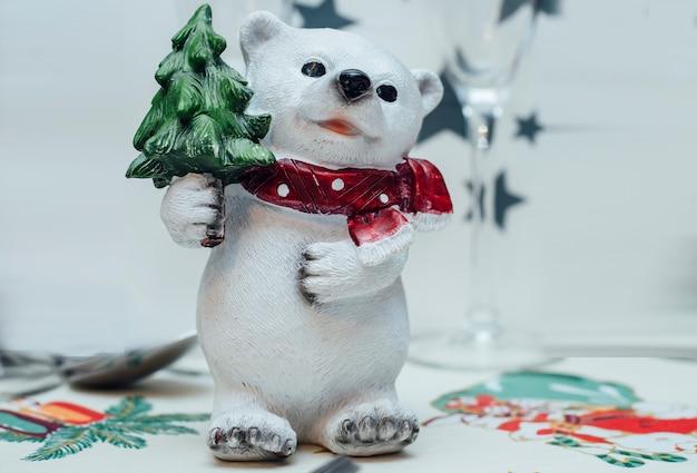 Bears table christmas