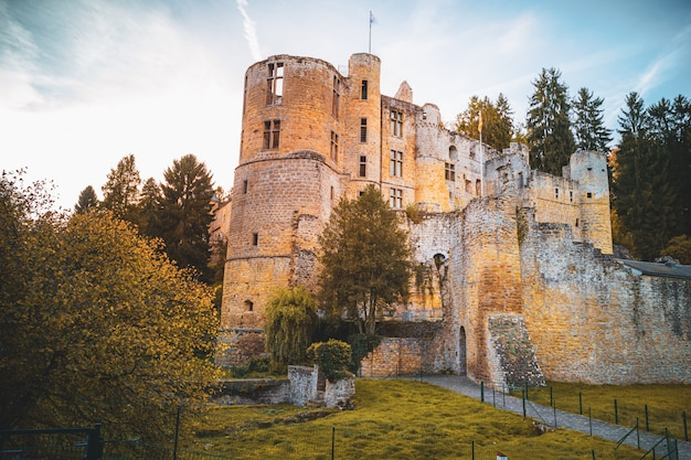 Beaufort castle in luxembourg