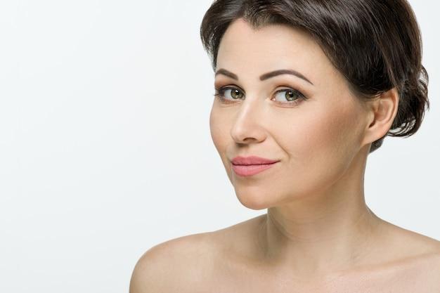 Beauti portrait of adult woman