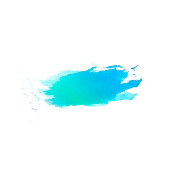 손으로 그린 물 색 반점의 아름 다운 추상적 인 배경