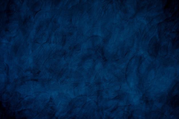 美しい抽象的なグランジ装飾的な濃いネイビーブルーの背景