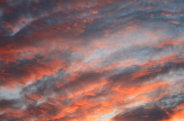 Beautiful abstract nature  with sky cloud landscape at sunset