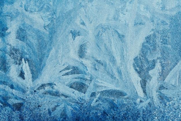 紙のデザインの明るい背景に青い冷ややかなパターンと美しい抽象的なパターン