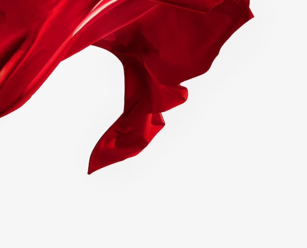Красивая абстрактная концепция шелка с копией пространства