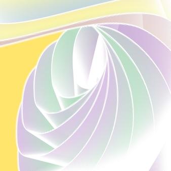 색상 배경에서 그라디언트가 있는 아름다운 추상화입니다. 텍스트를 위한 장소, 디자인을 위한 추상 콘텐츠입니다.미래 기술 스타일입니다. 모션 일러스트입니다.