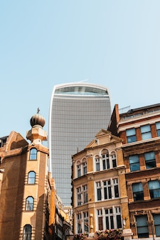 Beautiful architecture and building in london