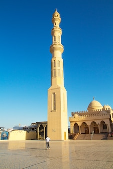 Beautiful architecture of the mosque