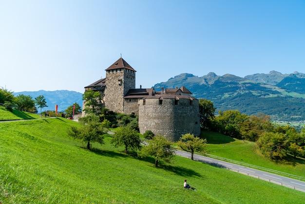 Beautiful architecture at vaduz castle