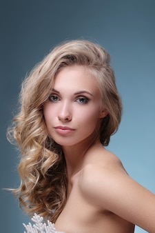 Beautiful and attractive woman portrait