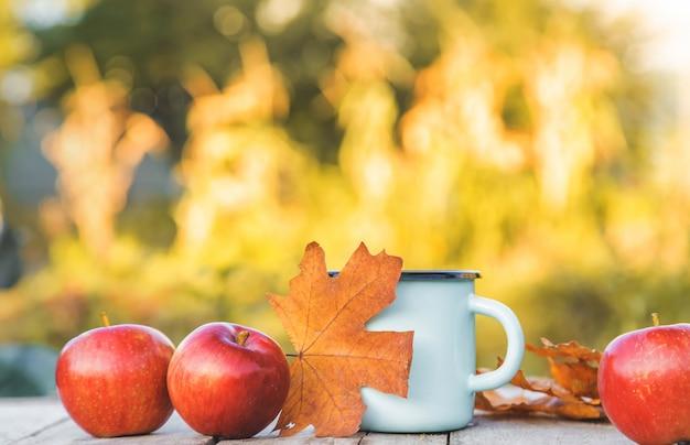 Beautiful autumn background.
